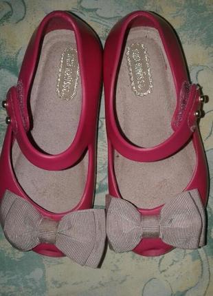 Элегантные туфельки балетки для маленькой принцессы mini melissa оригинал