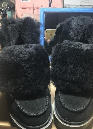 Зимние ботинки,ботинки на низком ходу!натуральные ботинки!кожа!