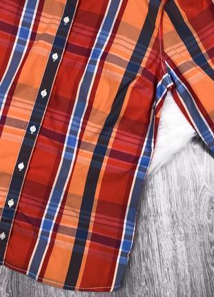 Крута сорочка в яскраву плитку від преміум бренду tommy hilfiger4