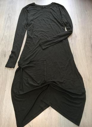 Макси платье туника