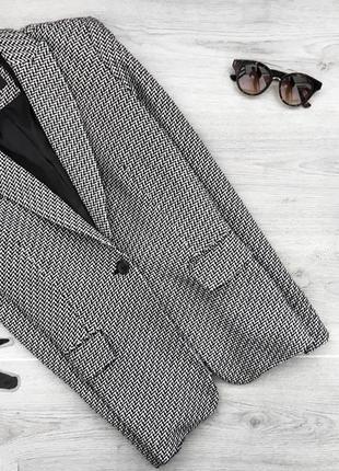 Актуальный фактурный пиджак/блейзер/жакет в принт 2xl next tailoring