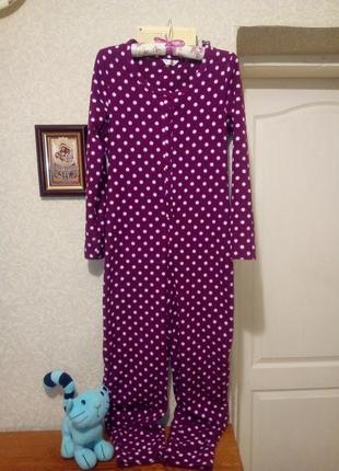 Теплая флисовая пижама кигуруми