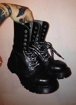 Ботинки steel 37 р (23,5 см) состояние идеал