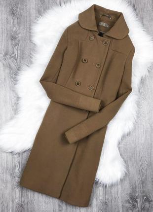 Стильне вінтажна пальто кольору кемел season