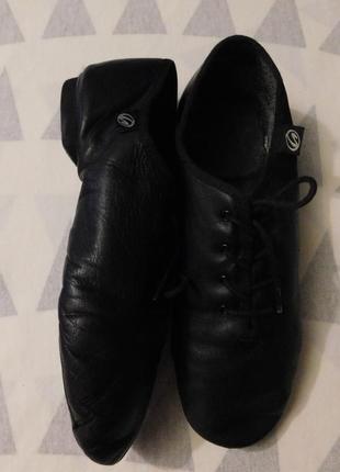 Танцевальная обувь, туфли для танцев, джазовки, чешки кожаные, германия, р. 37, 38, 39