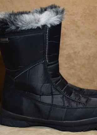 Термоботинки ten tex ботинки сапоги зимние. германия. оригинал. 40 р./26 см.
