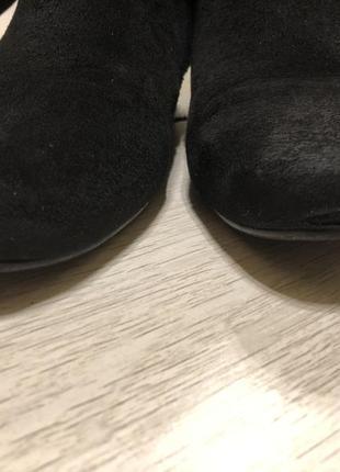Осенние сапоги на низком каблуке5