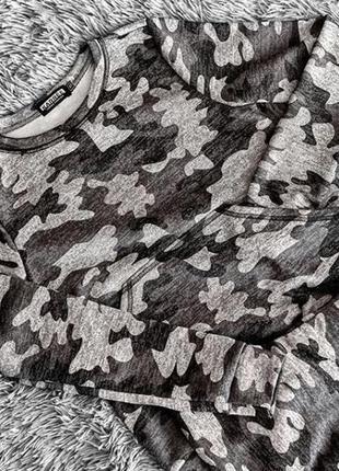Кофстом камуфляж милитари кофта штаны свитшот