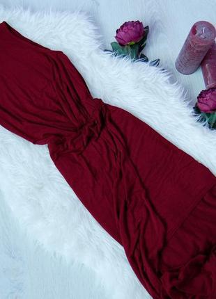 Платье в пол цвета марсала b. s. attwall