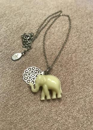 Подвеска со слоном