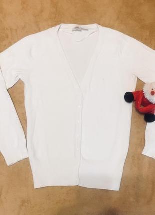 Кофта пуловер белый