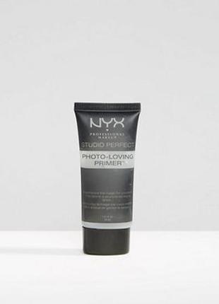 Матирующая основа под макияж nyx studio perfect primer clear