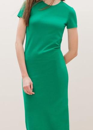 Трендовое, элегантное платье stradivarius maxi slip dress
