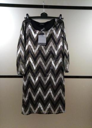 Невероятное платье в пайетки. нарядное платье в пайетки корпоратив