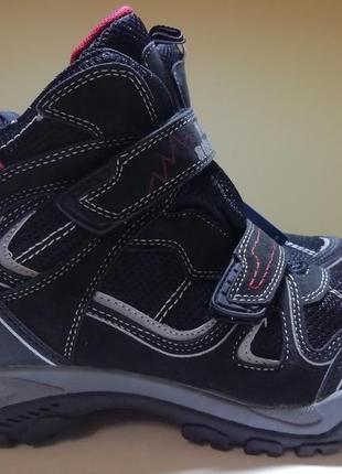 Термо ботинки cortina для мальчика на мембране deltex