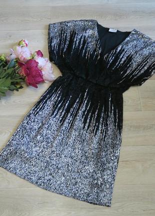 Шикарное новогоднее вечернее платье