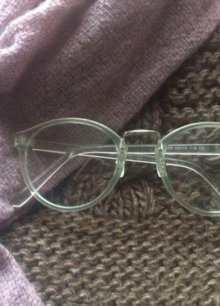 Женские очки с прозрачной оправой 2019 - купить недорого вещи в ... 4be453d0943
