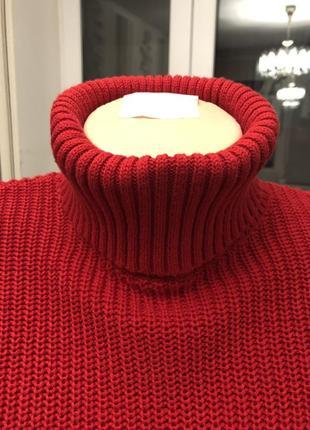 Короткий красный свитер  от forever 21