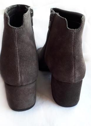 Крутая брендовая обувь! темно-серые замшевые ботильоны #vagabond. р-р 382 фото