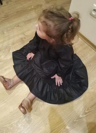 Стильные детские платья из хлопка