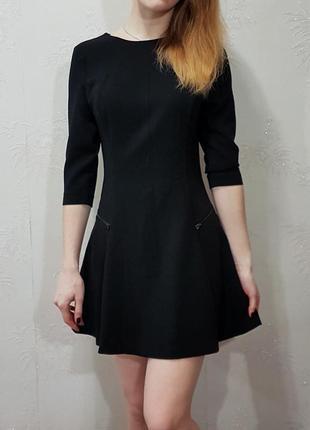 Плотно платье - трапеция