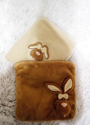 Комплект подушка/плед для дошкольника