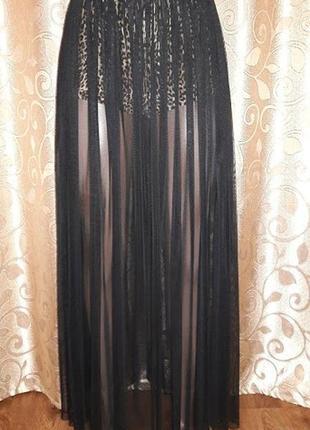 Красивая длинная женская юбка exclusive collection