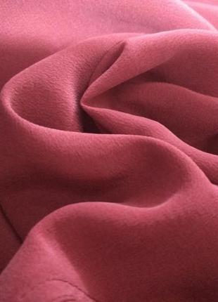 Фирменная, натуральная, шелковая, винтажнная блуза, 100% шёлк