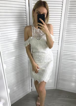 Кружевне плаття guess
