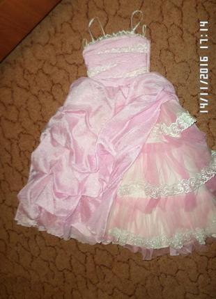 Эксклюзивное платье нарядное бальное пышное (сукня )