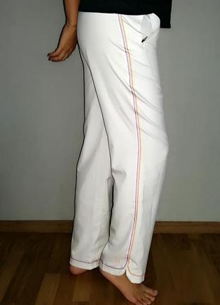 Белые брюки с высокой посадкой puma на 46-48 размер.