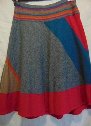 Шерстяная юбка promod.