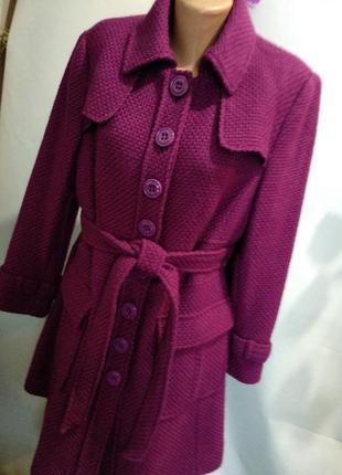 Моднейшее пальто р 18