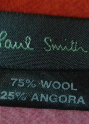 Скидка!!! шарф paul smith шерстяной теплый оригинал шалик+300 шарфов на странице4 фото