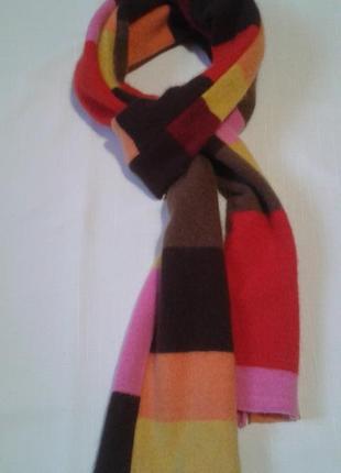 Шарф paul smith шерстяной теплый оригинал + 150 шарфов и платков на странице