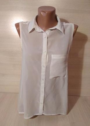 Блуза шифоновая легкая кружевная