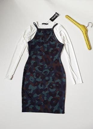 Платье майка в стиле милитари  болеро  подарок