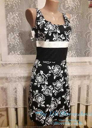 Новое с биркой нарядное платье на лето, размер с-м