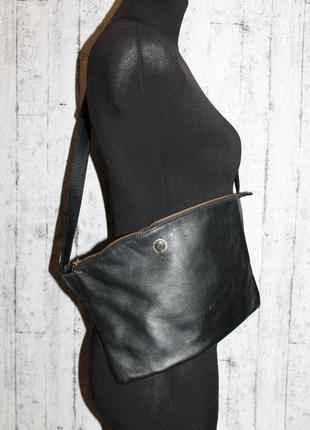 Кожаная дизайнерская сумка moreca craftsman на пояс/бананка,кроссбоди