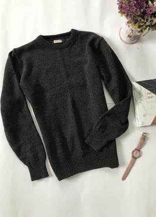 Кофта теплая шерсть/ свитер тёплый/ натуральная шерсть