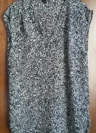 Блузка без рукав