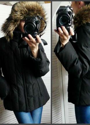 Уютный пуховик,куртка calvin klein( m/l см.замеры)