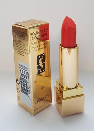 Yves saint laurent rouge pur couture помада для губ