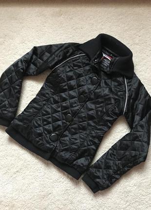 Атласная утеплённая куртка ♥️ made for loving ♥️ италия.