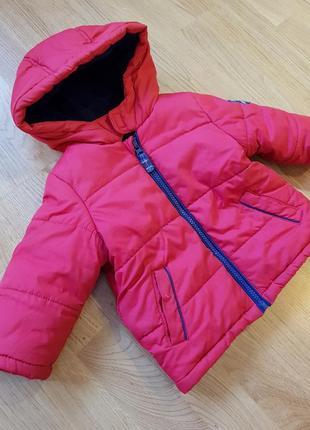 Теплая куртка унисекс от mothercare большемерит