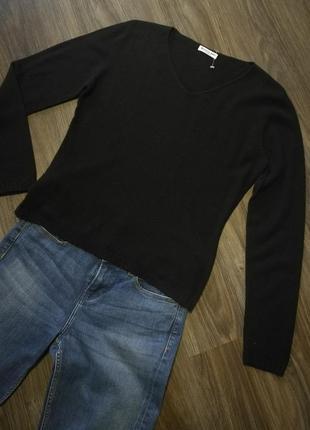 Мягкий кашемировый джемпер пуловер италия
