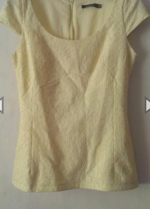 Кружевная блуза топ incity