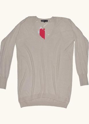 Мягкий качественный удлиненный пуловер от jbc