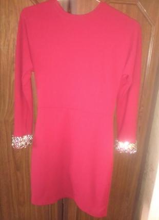 Красное платье sogo