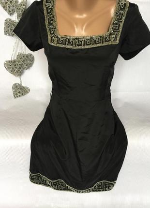Красивое платье с бисером